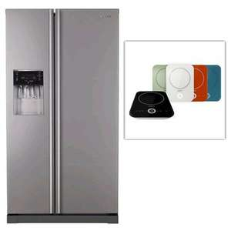 Samsung RSA1UMTG Side by Side Kühlschrank und Induktionskochplatte bei Redcoon für 879 €