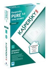 Kaspersky Pure 3.0 für 6 Monate Kostenlos für Neukunden