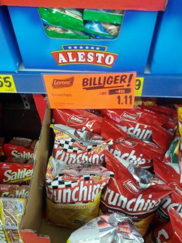 [lokal?] Lidl Crunchips + Erdnusslocken (Lorenz) 1.11€