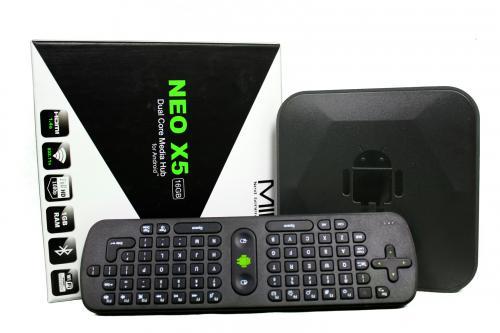 14% Rabatt auf MINIX NEO X5 Dual Core Smart Tv Box Android 1GB RAM WLAN + Air Mouse