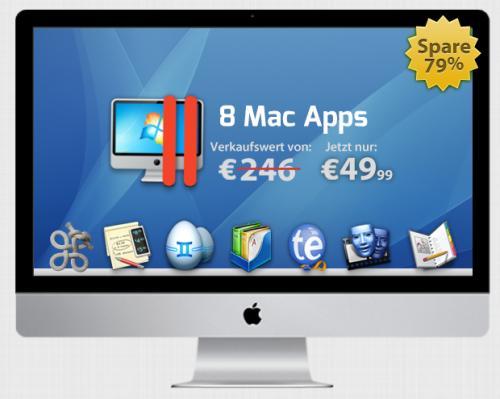 Das komplett deutsche German Mac Bundle mit Parallels 8 von StackSocial für 49,99€