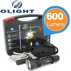 Olight Tactical Taschenlampe Typ: M21-X Krieger 600 Lumen nächster Preis 82€