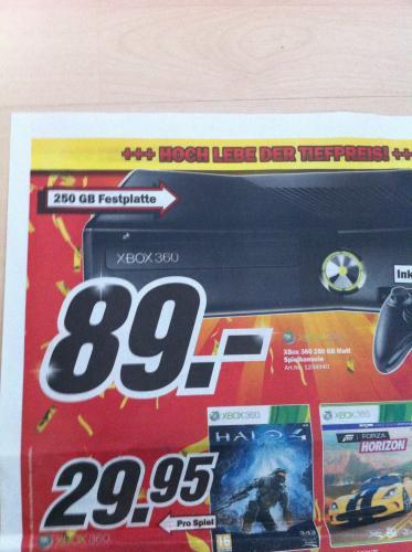 [CH]Xbox360 250gb im MM schweiz für 89,00SFR=72,29€