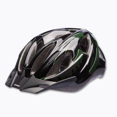 [ALDI NORD] Fahrradhelm inkl. LED Licht / Einhand-Verstellung (54-60 cm) / Sonnenschutz / Insektennetz [TÜV & GS] - AB MONTAG 29.04.13