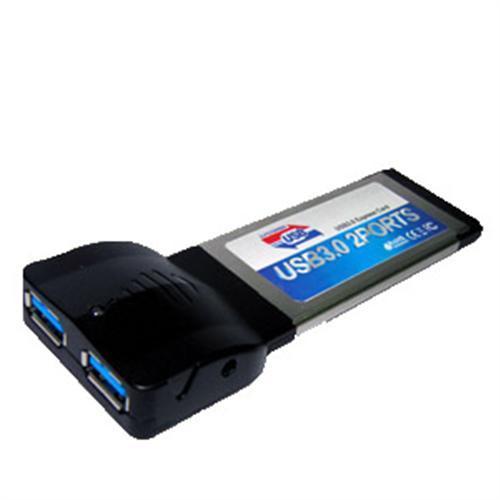 sempre USB3.0 Erweiterungskarte (Notebook) mit 2 Anschlüssen | Slottyp: ExpressCard|34 @ebay