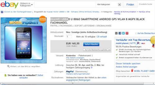Huawei 8860 B-Ware