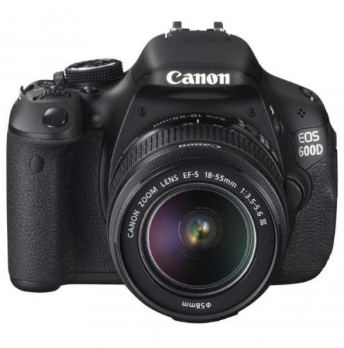 Canon EOS 600 D + EF- S 18-55 mm DC III Spiegelreflexkamera für 444€ inkl. Versand