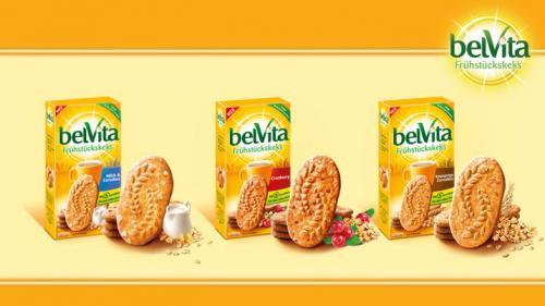 belVita 300g Packung Frühstückskekse gratis testen
