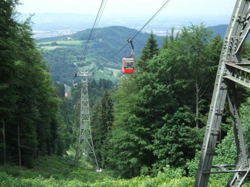 Lokal: Freiburg im Breisgau - am 30. April ist die Fahrt mit der Schauinslandbahn (Gondelbahn) zwischen 9 und 17 Uhr umsonst