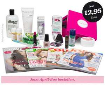 2x Pink Box (Glossybox-Klon) für 12,95 € statt 25,90 € ( -50%)