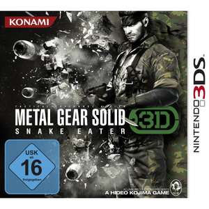 Metal Gear Solid : Snake Eater 3D für 17,50€ [3DS] @Amazon.fr