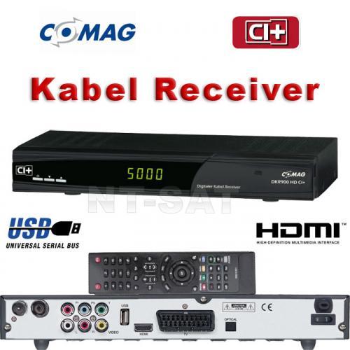 ComAG DKR 900 HD CI+ HD Digital Kabel Receiver – Ebay