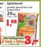 50kg Spielsand bei Thomas Philipps für nur 3€