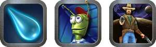 Eine Reihe von iOS Apps, kurze Zeit gratis / Entwickler: Pangea (Enigmo, Enigmo 2, Cro-Mag, Air-Wings, Billy Frontier, etc.)