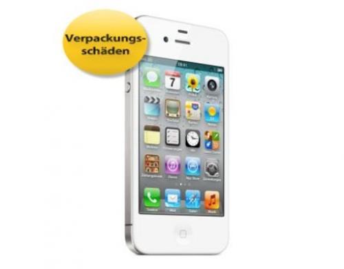APPLE IPHONE 4S 16GB Weiß Demogerät Mit Gutscheincode: 9PROZENT zu 429,52