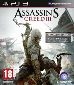 [PS3] Assassin's Creed 3 (UK-Version) für 25,88 € @TheHut