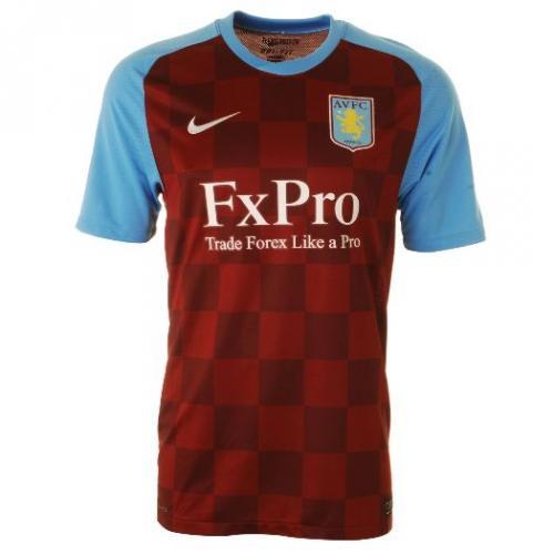 Nike Aston Villa Home Shirt 2011 2012  @sportsdirect.com