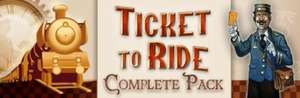 [Steam] Ticket to Ride Complete Pack @ Daily Deal