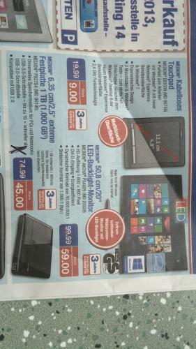 [offline] Aldi Bad Schwartau  Medion HDD 2,5 Zoll 1TB USB 3.0