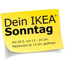 IKEA FFM: 5 Euro-Gutschein am verkaufsoffenen Sonntag am 26.5.2013