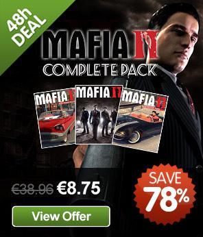 [Steam] Mafia II Complete Pack @ GMG
