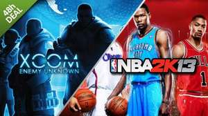 [Steam] XCOM Enemy Unknown & NBA 2K13 Pack @ GMG