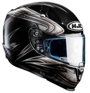 "Schnäppchen! Motorradhelm-Integral: HJC R-PHA 10 PLUS ""Evoke Black"" @lidsdirect.co.uk"