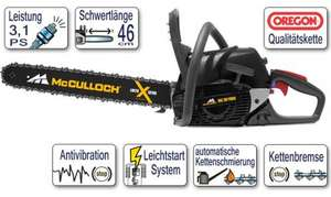 Kettensäge MC CULLOCH MAC 20X POWER (by Husqvarna Italy) 3.1 PS 4.9kg - 197€