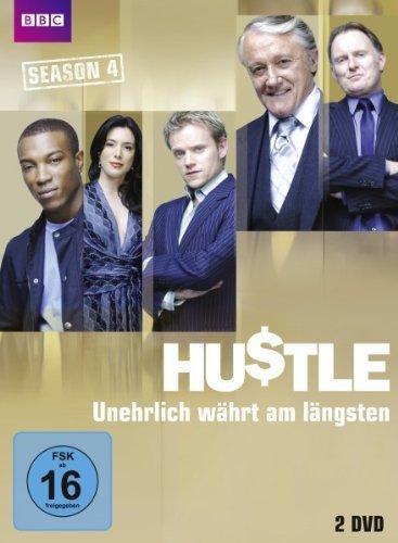 (Amazon) Hustle - Unehrlich währt am längsten Staffel 4, 5, 6 auf DVD für je 8,97 €