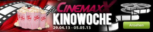 Günstigins Kino: CinemaxX Kinowoche