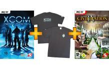 PC DVD-ROM - XCOM Enemy Unknown (inkl. Elite Soldier Pack) & Civilization IV & XCom T-Shirt ab €19,99 [@Saturn.de]