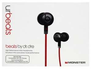 Monster urBeats by Dr.Dre Beats 52,95€ [laut idealo 77,46€] 30% günstiger!