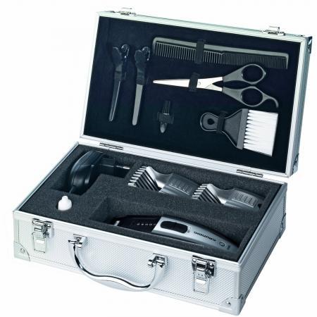 Haare perfekt selbst schneiden: Grundig MC4842 Haar-/Bartschneider im Alukoffer für 24,80 EUR