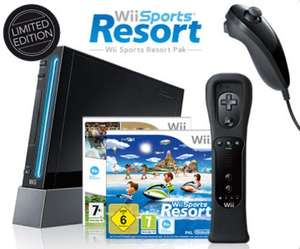 Nintendo Wii incl. Sports Resort UK