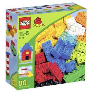 LEGO DUPLO®, 6176 Grundbausteine, 80 Teile für 1€