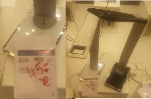 Trio LED Tischlampe mit Sensordimmer ca. 44% Rabatt