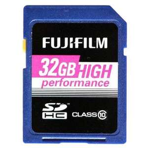 Fujifilm™ - 32GB SDHC High Performance Speicherkarte (Class 10) für €16,99 [@Redcoon.de]