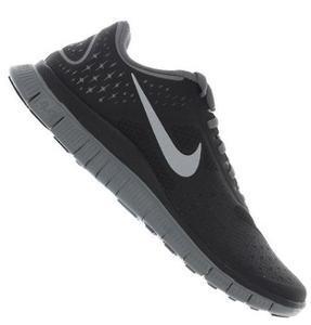 Nike Free 4.0 V2 Running Mens Grau/Silber