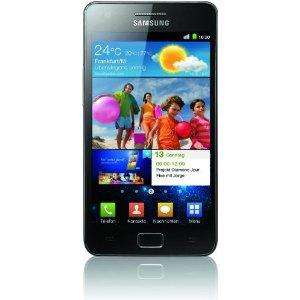 "Samsung Galaxy S II i9100 DualCore 4.3"" Smartphone noble-black [Amazon WHD]"