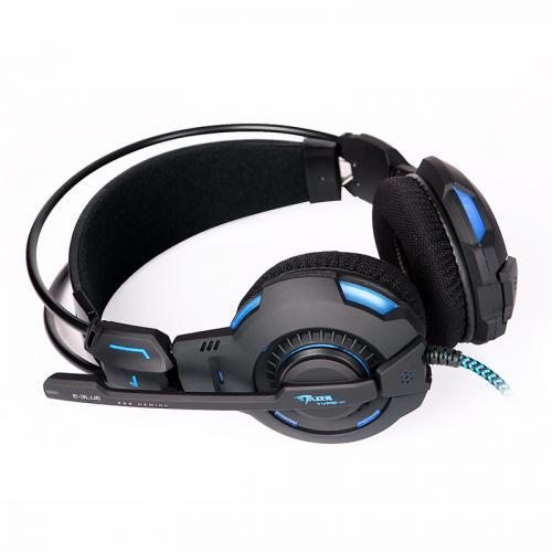 Beleuchtung Gaming Multimedia Bass DJ 5.1 Surround Kopfhörer Headset + Mikrofon für 44,50€