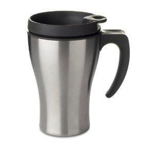 """Thermobecher  mit automatik Verschluss  ---- """" Coffee 2 Go """""""