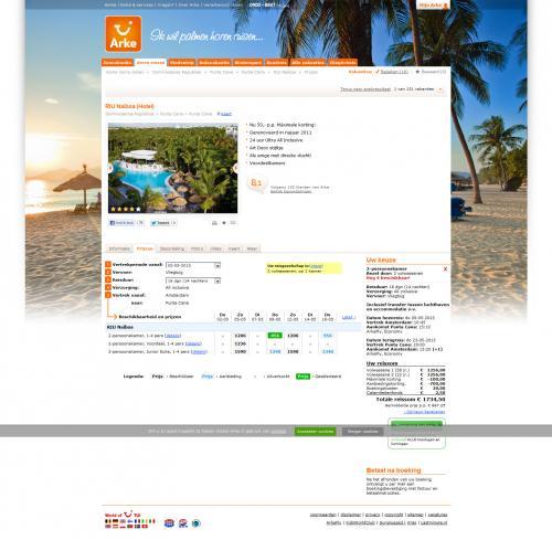 Punta Cana (Dom. Rep.) | 2 Wochen | 4*-RIU-Hotel | AI | ab Amsterdam | 856€
