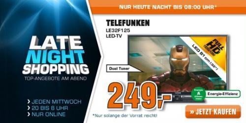TELEFUNKEN LE32F125Q2 @ Saturn.de LNS für 249 EUR