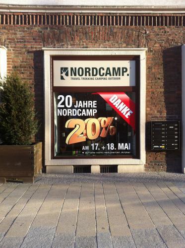 [lokal Rostock] 20% auf alle nichtreduzierten Artikel bei Nordcamp (Trekking, Outdoor Artikel)