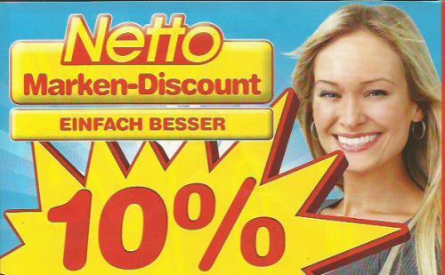 [41812 ERKELENZ] Netto ohne Hund am Sonntag dem 5.5. verkaufsoffen und 10% Rabatt