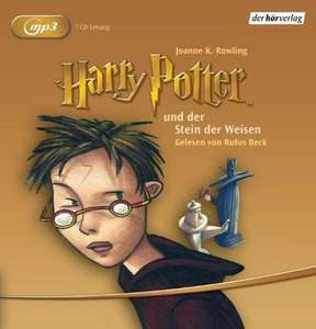 Harry Potter und der Stein der Weisen: Gelesen von Rufus Beck [Audiobook, MP3 Audio] [MP3 CD]
