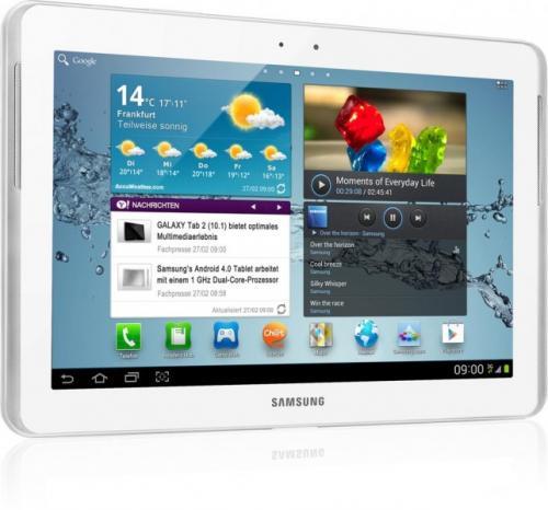 Samsung Galaxy Tab 2 10.1 3G 32GB Neu für 339€ inkl. Versand