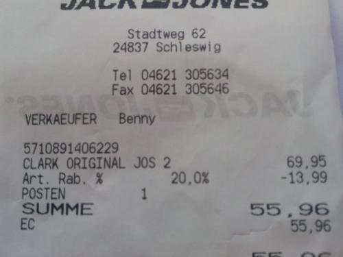 Lokal in Schleswig: 20% Rabatt auf alle Jack & Jones Jeans + kostenlose Boxershorts
