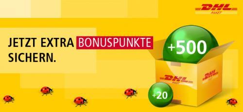 500 Bonuspunkte für die kostenlose Registrierung bei EPost