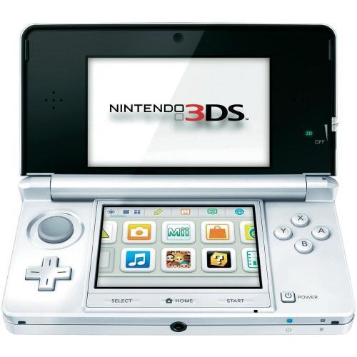Nintendo 3DS schneeweiß [Amazon WHD - wie neu]